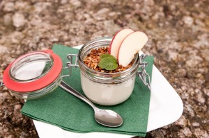 Yogurt- microbiome healthy food